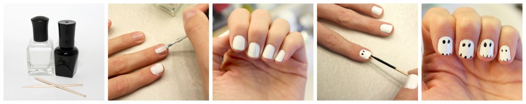 Halloween Nails Easy Step By Step